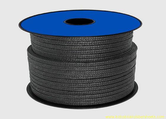 China Schwarze Verpackung des Teflonptfe für Dichtmasse-/Graphitdrüsen-Verpackungs-Seil distributeur