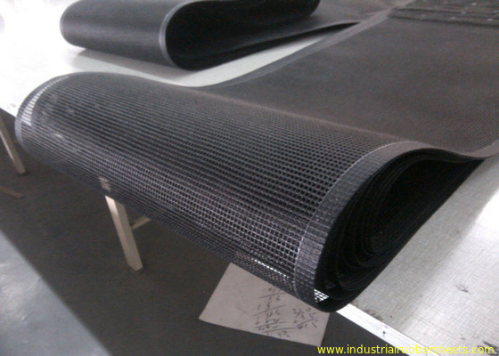 China PTFE polyester mesh fabric , PTFE polyester mesh fabric for conveyor belt / griddling cloth, made by PTFE coated usine